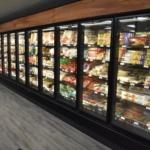 Wall of Refrigerators in a Grand Rapids, MI Market