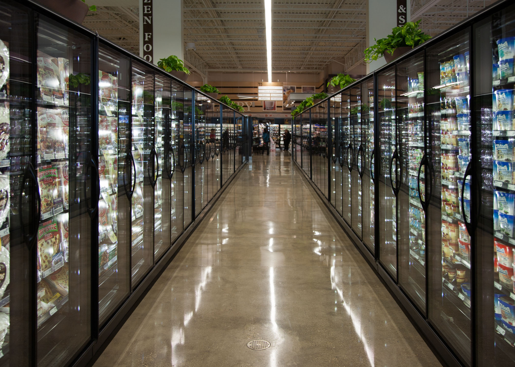 Full Aisle of Grocery Store
