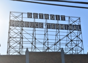 Detroit Produce Terminal Sign - Phoenix Refrigeration