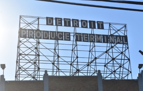 Detroit Produce Terminal Sign - Phoenix Refrigeration